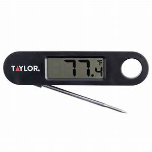 Taylor Digital Cooking Thermometer 1487 Manual