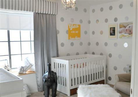 diy polka dot nursery wall project nursery