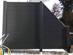 Sichtschutzzaun Aus Kunststoff : anthrazit sichtschutzzaun kunststoff anthrazit ecoline element 180 dicht ~ Watch28wear.com Haus und Dekorationen