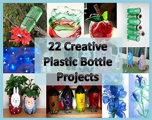 Craft, Home and Garden Ideas - 22 Creative Plastic Bottle ...
