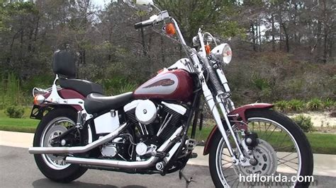 Used 1999 Harley Davidson Softail Springer Motorcycles For