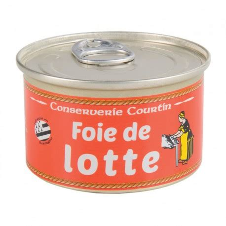 cuisiner le foie de lotte foie de lotte conserverie courtin