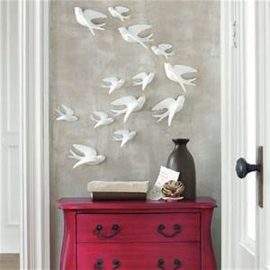 set of five birds of flight wall art grandin road With kitchen cabinets lowes with ceramic birds wall art