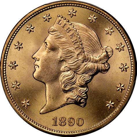 Value of 1890-S $20 Liberty Double Eagle   Sell Rare Coins