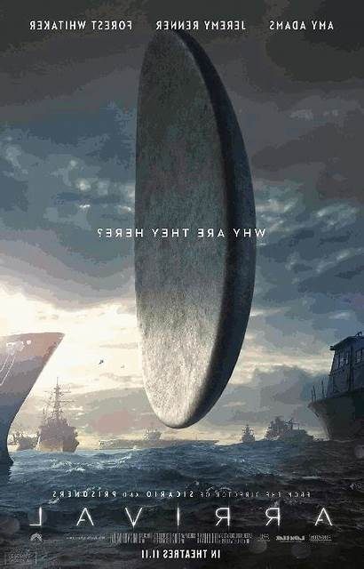 Posters Arrival Revealed Scified Secret