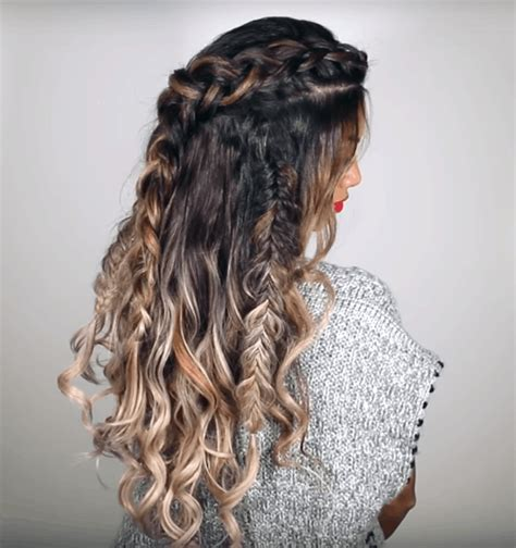 bohemian style   easy boho hairstyles college fashion
