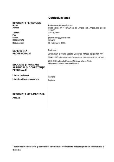 Europass Cv Shqip Word Example Good Resume Template