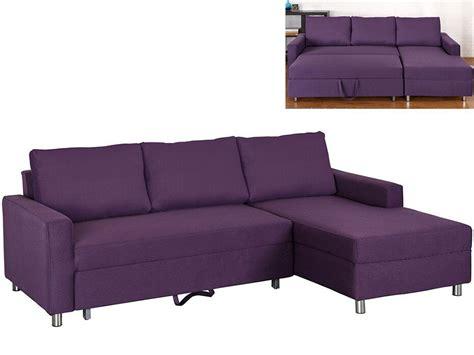 canapé violet convertible canapé convertible violet prune achat en ligne