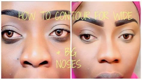 contour   wider bigger nose tree  life techniques youtube