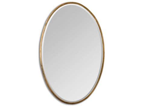 Uttermost Herleva 18 X 28 Gold Oval Wall Mirror