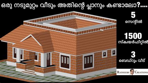 sq ft bhk kerala nalukettu style single floor house   plan home pictures