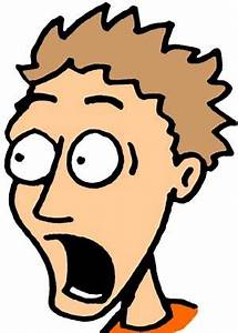 Shocked Cartoon Face - ClipArt Best