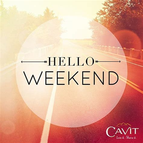Hello Weekend Pictures, Photos, and Images for Facebook