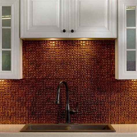 copper kitchen backsplash tiles kitchen dining metal frenzy in kitchen copper