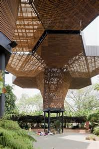 Wood Architecture Canopy