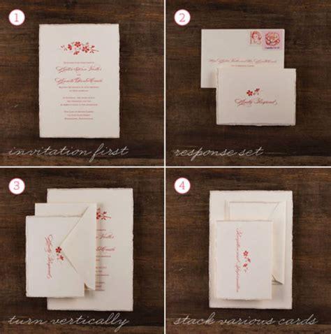 how to stuff wedding invitations merry brides how to assemble a wedding invitation
