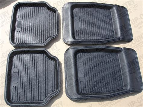 Floor Mats Uk by Rubber Floor Mats 4pc Set Up Country 4x4 And