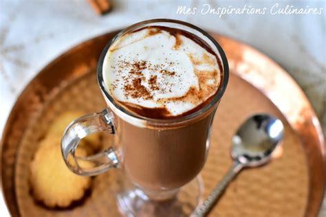 recette chocolat chaud maison chocolat chaud 224 la cannelle recette de felder blogs de cuisine