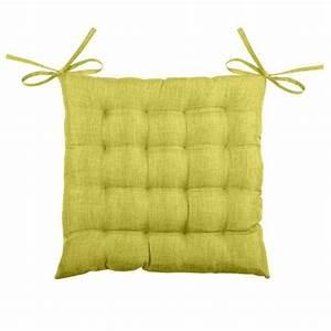Coussin Vert Anis : galette et coussin de chaise vert coussin et galette eminza ~ Teatrodelosmanantiales.com Idées de Décoration