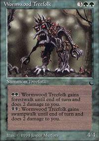 magic the gathering treefolk deck wormwood treefolk the magic the gathering
