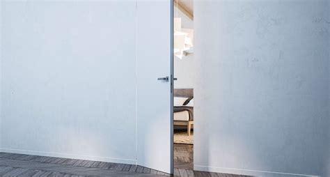 poignee de porte invisible porte invisible syntesis battant eclisse