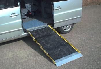 aluminium triple length folding ramp portable access