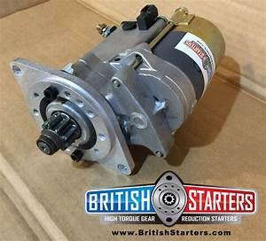 Triumph Spitfire Hi Torque Gear Reduction Starter Motor