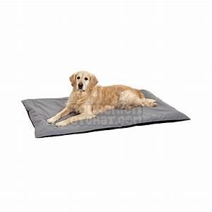 tapis pour chien doc bed noir et gris With tapis pour chien lavable
