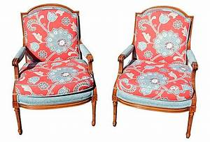 Baker, Armchairs, Pair, On, Onekingslane, Com