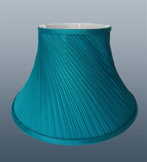 pair of twisted pleat fabric table lshade ceiling light
