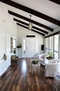 Deco Maison Avec Poutre : la poutre en bois dans 50 photos magnifiques ~ Zukunftsfamilie.com Idées de Décoration