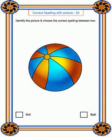 printable correct spelling 34 coloring worksheets free 243   correct spelling34