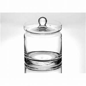 Pot Verre Couvercle : bocal avec couvercle en verre po le cuisine inox ~ Teatrodelosmanantiales.com Idées de Décoration