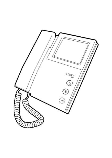 Kleurplaat Gsm by Kleurplaat Telefoon Afb 28293