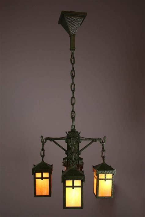 bradley and hubbard mission monk light fixture 4