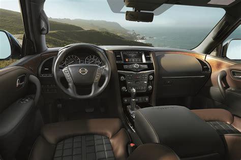 nissan armada platinum reserve interior  fast