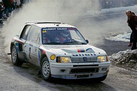 Peugeot 205 T16 by La Peugeot 205 T16 D Ari Vatanen 224 Vendre Aux Ench 232 Res L