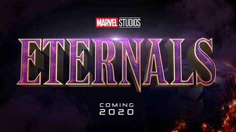 The Eternals - Title Logo : marvelstudios