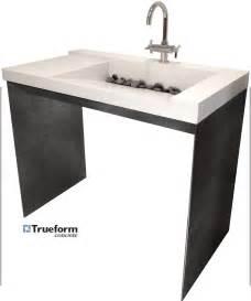 Small Vanity Sink Base ada compliant sink trueform decor