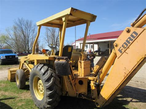 ford  backhoe ford tractors equipment pinterest