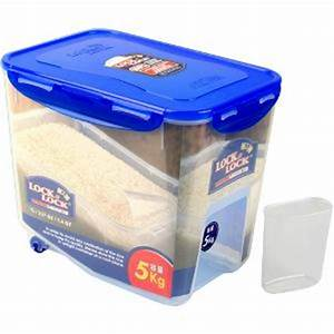Lock & Lock Storage Container with Cup - 5 kg (HPL500