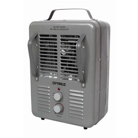 utilitech bathroom fan with heater shop utilitech 5 118 btu utility fan cabinet electric