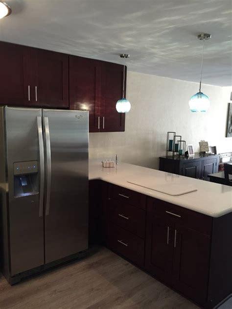 buy mocha shaker kitchen cabinets