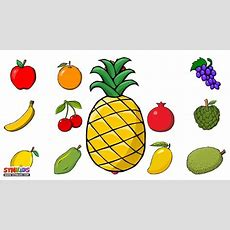 Fruits For Children  Fruits Song  Lets Learn Fruits Youtube