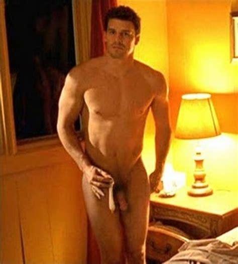 David Boreanaz Full Frontal Nude Nude Celeb Men