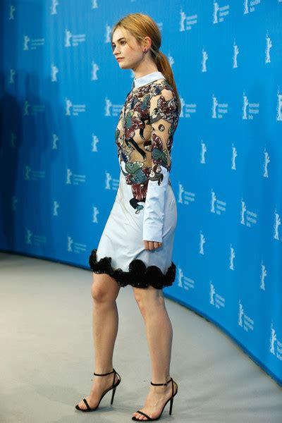 Lily James Cocktail Dress - Cocktail Dress Lookbook