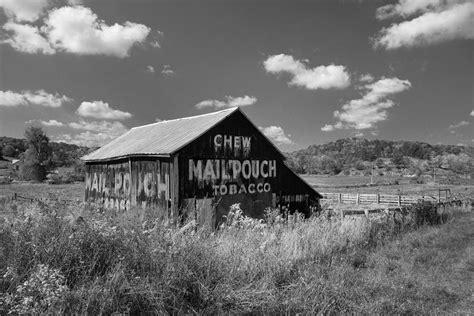 Tobacco Barn Black And White Photograph By Jack Nevitt