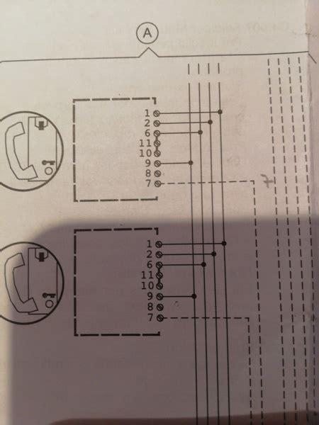citofono urmet 1130 schema sostituzione bpt ve200 con urmet utd1133 5 fili citofoni schema