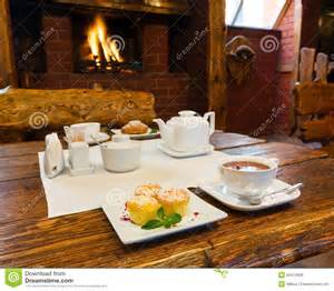 Fireplace Romantic Breakfast