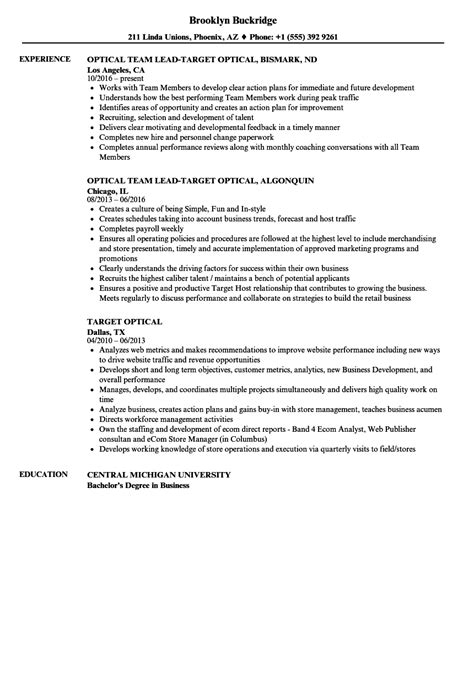 Target Resume target resume exles exle document and resume